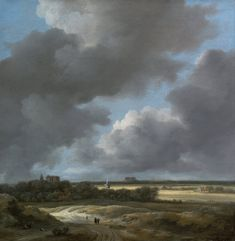 Another crisp winter morn.  View of Alkmaar by Jacob van Ruisdael 1670-75 Oil on Canvas (Museum of Fine Arts, Boston)