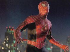 Spiderman Sam Raimi, Spiderman 2002, Black Spiderman, Amazing Spiderman, Marvel Dc, Marvel Comics, Spider Man Trilogy, Real Spiders, Amazing Fantasy 15