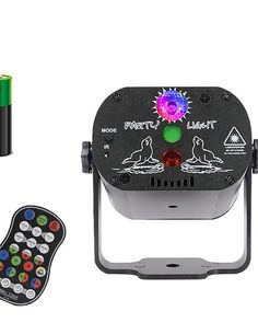 <p>Specifications <br>General <br>Model:IGB-T818 <br>Brightness(lm):400 <br>ImageSystem:LED <br>ContrastRatio:700:1 <br>Features:Dimmablecolors,RotatingLEDProjector,Voice-activatedMode,LaserLightProjector,RemoteControl <br>ItemType:ProjectionLampNightLight <br>Occasion:Party,Wedding, Led Disco Lights, Led Stage Lights, Stage Lighting, Christmas Light Projector, Best Christmas Lights, Christmas Holidays, Dj Disco, Led Projector, Commercial Lighting