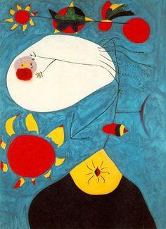 Joan Miró, Portrait IV 1938 on ArtStack #joan-miro #art