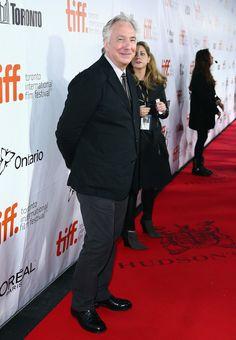 "Alan Rickman Photos - ""A Little Chaos"" Premiere - Arrivals - 2014 Toronto International Film Festival - Zimbio"