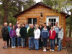 TriLakes Basecamp Alpha in Colorado combined their gifts to hire one mechanic together. Colorado, Wellness, Cabin, Club, House Styles, Gifts, Aspen Colorado, Presents, Cabins