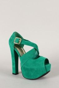 I love these! But I wish I felt comfortable wearing these high of heels.