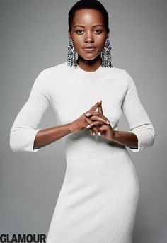 Lupita Nyong'o - Glamour Magazine December 2014