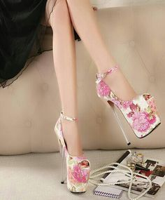Sapatos as flores