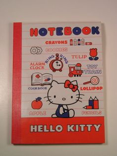 1976 HELLO KITTY VINTAGE COLLECTIBLE NOTEBOOK SANRIO JAPAN NEW