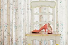 coral shoes by Wedding Prep, Wedding Wear, Wedding Events, Dream Wedding, Wedding Things, Wedding Stuff, Weddings, Wedding Photography Inspiration, Wedding Inspiration