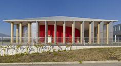 Paper Tubes >> Concert Hall, L'Aquila | Shigeru Ban…