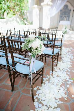 Rancho Las Lomas by Hazelnut Photography Mod Wedding, Wedding Pins, Casual Wedding, Wedding Ideas, Garden Wedding, Dream Wedding, Wedding Inspiration, Wedding Ceremony Decorations, Aisle Decorations