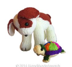 Ravelry: HandMadeAwards' Two Friends The DOG and the TURTLE