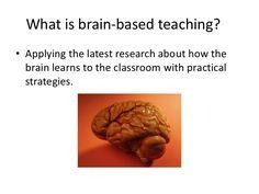 Brain based teaching.  Review of the SMART model.