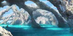 Lets Swim, Iacocca Khen on ArtStation at https://www.artstation.com/artwork/JOk9n