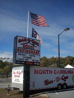 Bar-B-Que House, Oak Island, NC