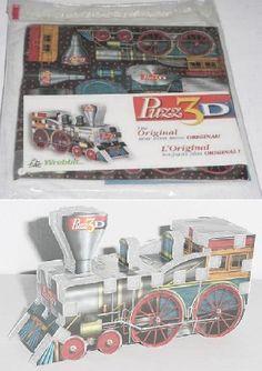 promo wrebbit puzzle Orient Express w/ 18 pcs Metal Puzzles, 3d Puzzles, Puzzle Shop, Orient Express