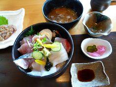 """Pranzo""""Ebiman""""(Osteria), """"Shirahama""""(Spiaggia), Shimoda Izu Japan"""