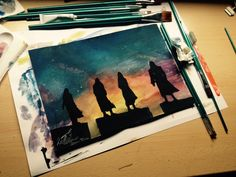 watercolours | Tumblr