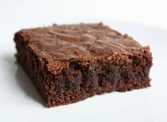 Oer-Brownie: glutenvrij, suikervrij, vetvrij én lactosevrij