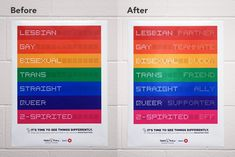 LGBTQ Posters in Toronto Schools Send Messages of Love in the Flash of a Camera Phone   Adweek