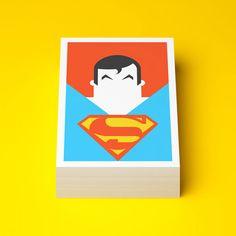 super heros cartes superman