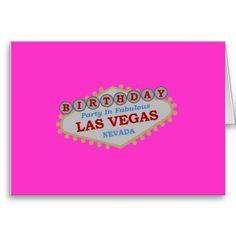 21 best las vegas birthday cards images on pinterest anniversary las vegas birthday party card m4hsunfo
