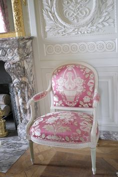 Domaine de Marie Antoinette - interior/decor Grand Salon, Petit Trianon, Versailles, France