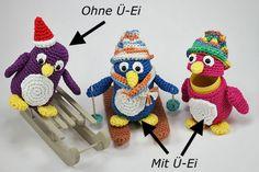 Häkelanleitung Ü-Pet Pinguin Pauli