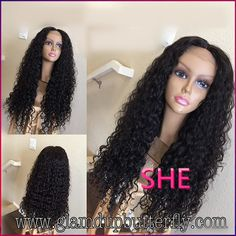 Find More Synthetic Wigs Information about New style heat resistant synthetic kinky curly lace front wig in stock synthetic lace front wig heat resistant,High Quality Synthetic Wigs from SHE Lady House on Aliexpress.com