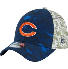 Honor your military and your team this Veterans Day with the New Era® Chicago Bears Salute to Service Flex Hat.