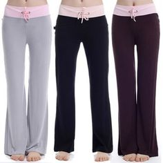 Free Women's PJ Pajama Pants Sewing Pattern: