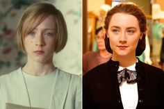 Saoirse Ronan - Then and Now: 2016 Golden Globe Award Nominees - Photos