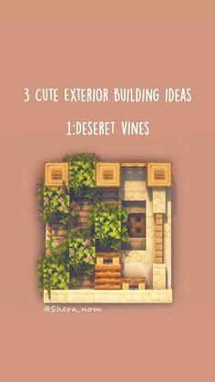 Minecraft Building Guide, Minecraft House Plans, Easy Minecraft Houses, Minecraft Tips, Minecraft Tutorial, Minecraft Creations, Minecraft Projects, Minecraft Stuff, Building Ideas