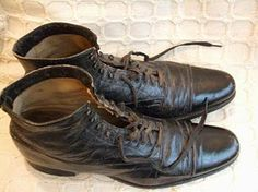 Early 1900's shoes - worn by man in high society.