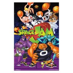 Space Jam Movie Art Poster - Come on and slam! And welcome to the Jam! Get ready to make some sick dunks and show some love for your all-time favorite film with this awesome Space Jam poster! Movie Poster Art, Poster Wall, Poster Prints, Art Posters, Collage Frames, Frames On Wall, Framed Wall, Collage Art, Toon Squad