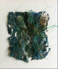 Sample 1 back after - Daniela Maschera, Stitching in the Sun