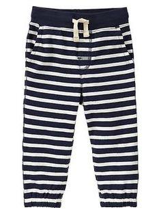Fall Wardrobe : Stripe sweats (Gap)