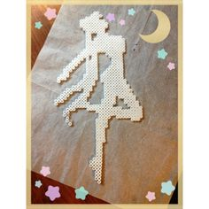 Sailor Moon perler beads by darbygasm