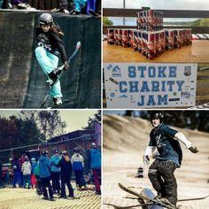 Wake fuelling the riders at the Stoke Charity Ski Jam last Saturday #ski @JTTski @RGFcharity @177Helen 