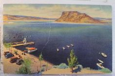 New Mexico Elephant Butte Wharf Postcard Old Vintage Card View Standard Post | eBay