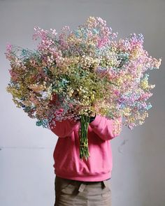 The candy floss flowers are back! 1 stalk 1 bunch (like on the picture) The candy floss flowers are back! 🌸 1 stalk 1 bunch (like on the. Simple Flower Drawing, Easy Flower Drawings, Easy Flower Painting, Acrylic Painting Flowers, Simple Flowers, Pretty Flowers, Watercolor Flowers, Shade Flowers, Dried Flowers
