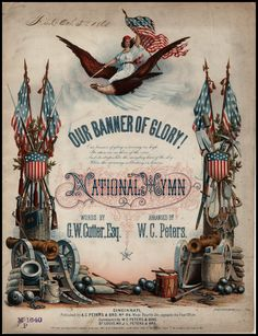 Our Banner of Glory! - Civil War Sheet Music