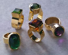 Kobi Bosshard rings...my current designer obsession