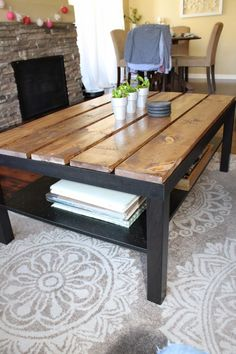 Superieur The Weekender Wife: IKEA Coffee Table Hack  This But For Our Dining Table