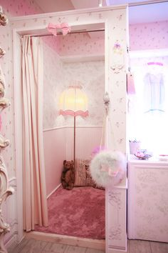 That's a good idea .o. turn a closet or something into a small room. It can be a reading nook or dressing room  ^^