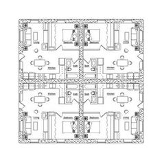 Earthbag Building: Fourplex Plan
