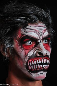 HORROR 101 with Dr. AC: BIFFF 2012 Makeup/Body Painting winners