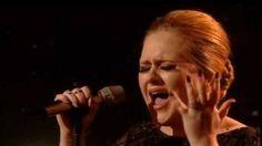 Adele - Someone Like You - BRIT Awards 2011, via YouTube.