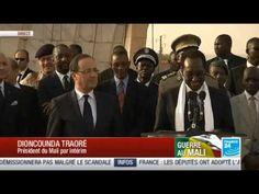 Politique France FRANCOIS HOLLANDE - au MALI à BAMAKO avec le président TRAORE 02/02 - http://pouvoirpolitique.com/francois-hollande-au-mali-a-bamako-avec-le-president-traore-0202/