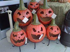 pumpkin chimenea
