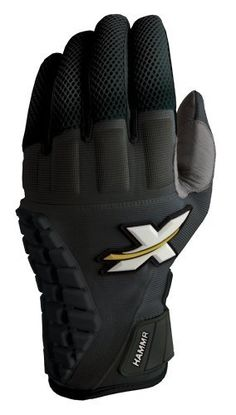 Xprotex Hammr Protective Batting Gloves (Black, Large) by Xprotex. $36.99. XProTeX Hammr protective battering gloves offers both wrist and hand protection with A.I.C material that absorbs 60% of the impact of a ball.