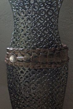 New Mexico Leather Artist Ifania creates her one of a kind ifania ® Liberty Belts out of luxurious crocodile and a signature liberty coin concho.  ifaniadesigns.com; bolotradingcompany.com